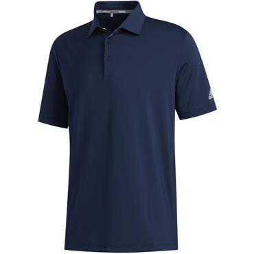 adidas Gents Ultimate 2.0 Solid Polo Collegiate Navy - Grey