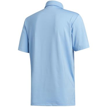adidas Gents Ultimate365 2.0 Solid Polo Shirt Light Blue