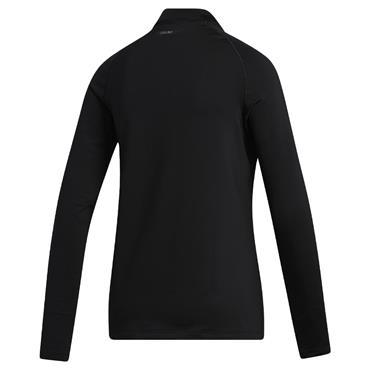 adidas Ladies Long-Sleeve Mock Black