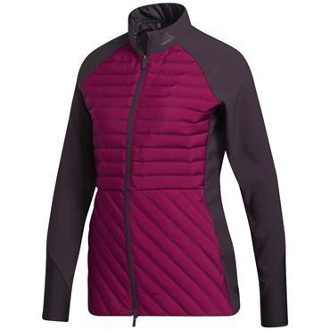 adidas Ladies Frostguard Jacket Power Berry