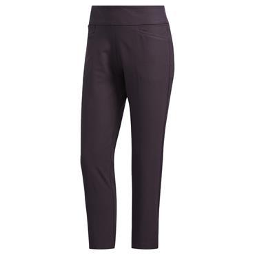 adidas Ladies Pull On Ankle Pants Noble Purple