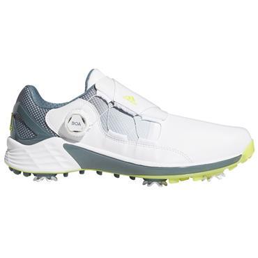 adidas Gents ZG21 BOA Shoes White - Acid Yellow - Blue Oxide