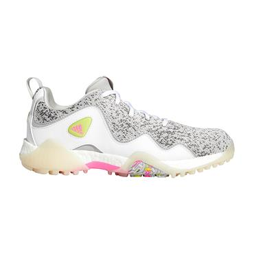 adidas Ladies CodeChaos 21 Primeblue Shoes Ftwr White - Screaming Pink - Grey Two