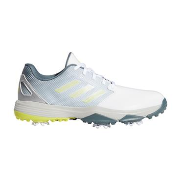 adidas Junior ZG21 Shoes Cloud White - Acid Yellow - Blue Oxide