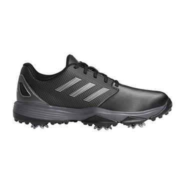 adidas Junior Unisex ZG21 Shoes Core Black - Silver Metallic - Dark Silver Metallic