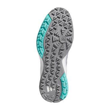 adidas Ladies EQT Spikeless Shoes Cloud White - Acid Mint