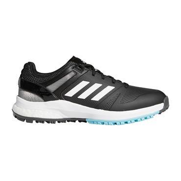adidas Ladies EQT Spikeless Shoes Core Black - Cloud White - Hazy Sky