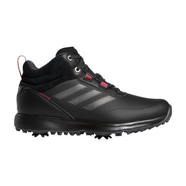 adidas Ladies S2G Mid-cut Shoes Core Black - Dark Silver Metallic - Wild Pink