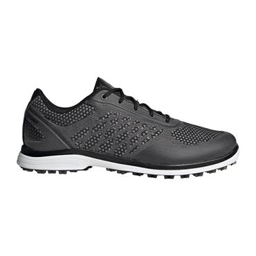 adidas Ladies Alphaflex Sport Spikeless Shoes Core Black - Glory Grey - Cloud White