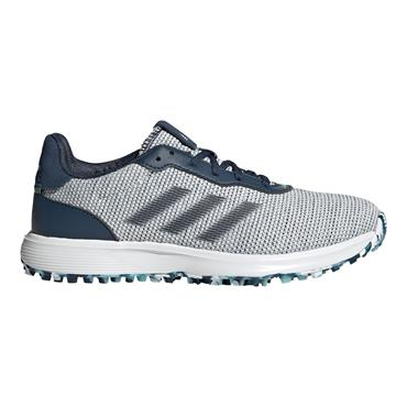 adidas Ladies S2G Spikeless Lace Shoes Crew Navy - White