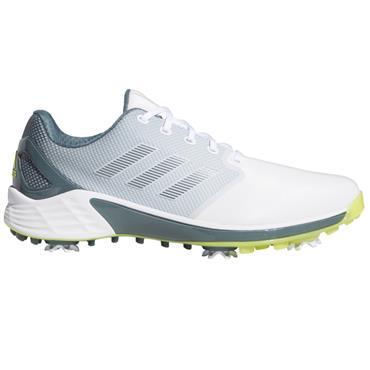 adidas Gents ZG21 Shoes White - Acid Yellow - Blue Oxide