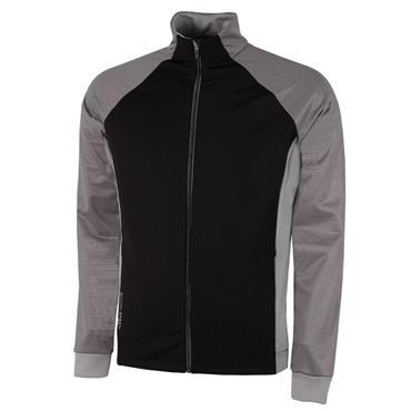 Galvin Green Gents Dominic Insula Jacket Black - Sharkskin