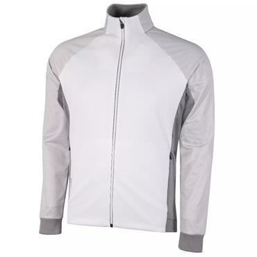 Galvin Green Gents Dominic Insula Jacket White - Sharkskin