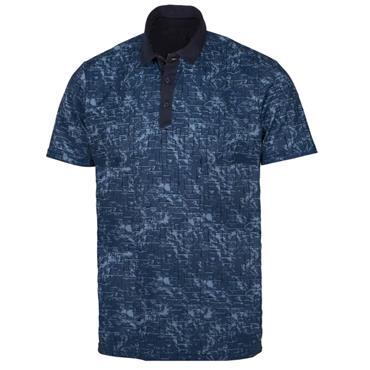 Galvin Green Gents Morris Ventil Shirt Navy - Dark Denim