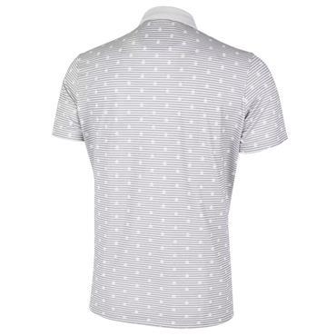 Galvin Green Gents Monty V8+ Shirt White - Cool Grey