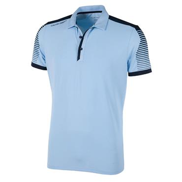 Galvin Green Gents Marcus V8 Polo Shirt Bluebell - Navy
