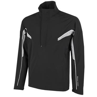 Galvin Green Gents Abe ½ Zip Paclite GORE-TEX Jacket Black - Sharkskin - White