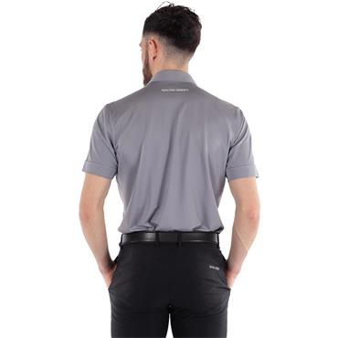 Galvin Green Gents Morton Ventil8+ Polo Shirt Sharkskin - White