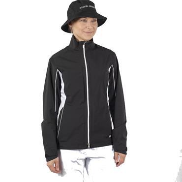 Galvin Green Ladies Aila Paclite Jacket Black - White