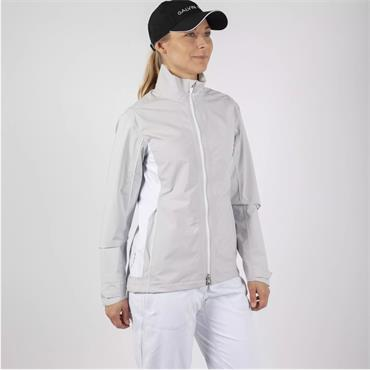 Galvin Green Ladies Aila Paclite Jacket Cool Grey - White