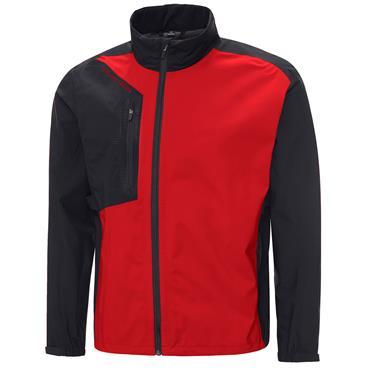 Galvin Green Gents Andres Waterproof GORE-TEX Paclite® Jacket Black - Red