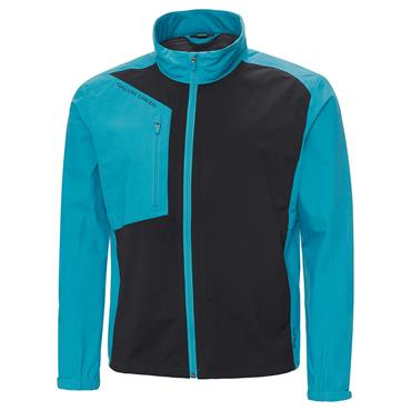 Galvin Green Gents Andres Waterproof GORE-TEX Paclite Jacket Lagoon Blue - Black