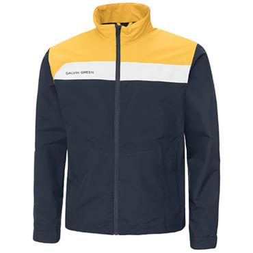 Galvin Green Gents Austin Waterproof GORE-TEX Jacket Navy - Gold - White