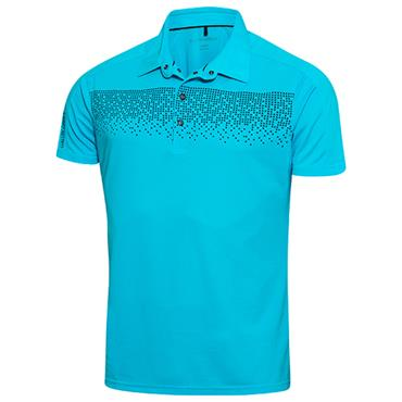 Galvin Green Gents Marcel Polo Shirt River Blue - Navy