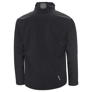 Galvin Green Gents Ames 1/2 Zip Waterproof GORE-TEX Paclite Jacket Black