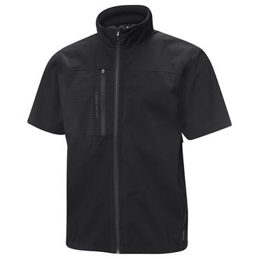 Galvin Green Gents Alvin Waterproof GORE-TEX Paclite Short Sleeve Jacket Black