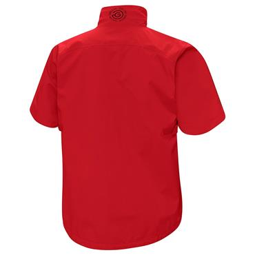 Galvin Green Gents Alvin Waterproof GORE-TEX Paclite Short Sleeve Jacket Red
