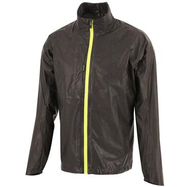 Galvin Green Gents Ashton GORE-TEX Paclite Full Zip Jacket Grey - Lime