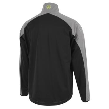 Galvin Green Gents Lincoln 1/2 Zip Jacket Sharskin - Black - Lime