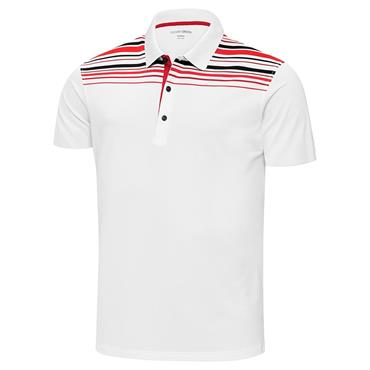 3218febbc Sale. Galvin Green Gents Melwin Ventil8+ Polo Shirt White - Red ...