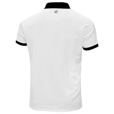 Galvin Green Gents Monte Ventil8+ Polo Shirt White - Black