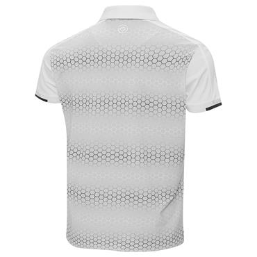 Galvin Green Gents Myles Ventil8 Plus Polo Shirt White - Antartica