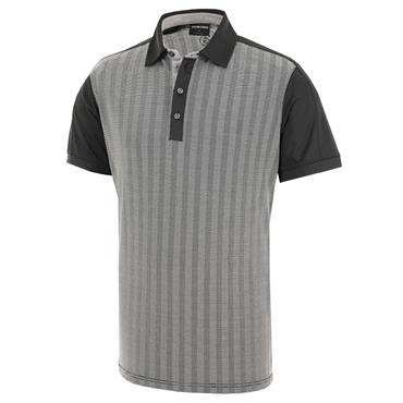 Galvin Green Gents Mylo Polo Shirt Carbon - Silver