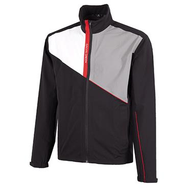 Galvin Green Gents Apollo Jacket Black - White - Shark Skin