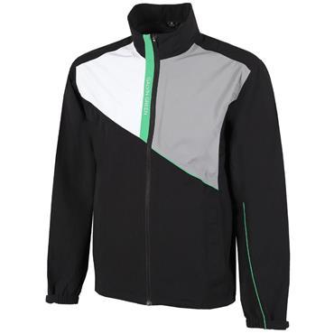Galvin Green Gents Apollo GORE-TEX Paclite Jacket Black - White - Sharkskin - Green