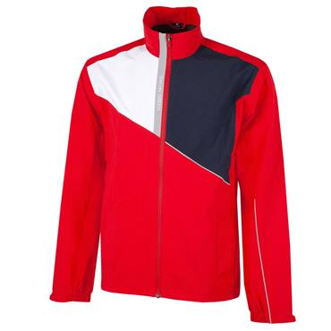 Galvin Green Gents Apollo GORE-TEX Paclite Jacket Red - White - Navy Cool
