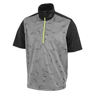 Galvin Green Gents Link ½ Zip Insula Top Sharskin - Lime