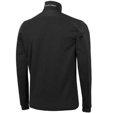 Galvin Green Gents Dwight 1/2 Zip Insula Black - White