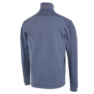 Galvin Green Gents Dwight 1/2 Zip Insula Pullover Ensign Blue - Orange