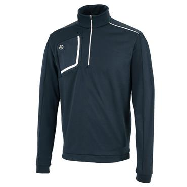Galvin Green Gents Dwight 1/2 Zip Insula Pullover Navy - White