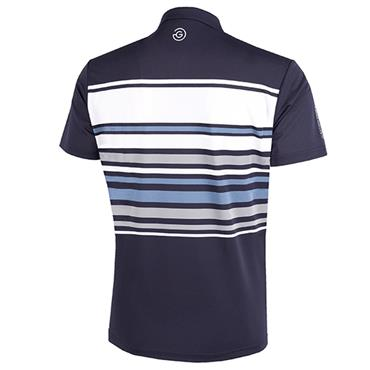 Galvin Green Gents Miguel Shirt V8 Navy - White - Blue
