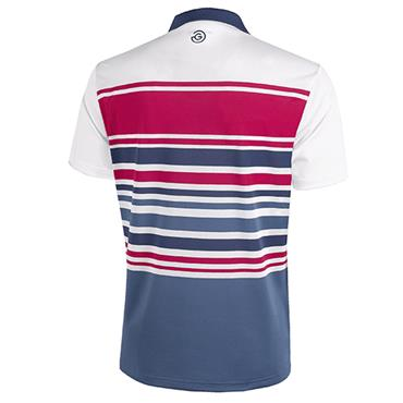 Galvin Green Gents Miguel Shirt V8 White - Barberry - Fade