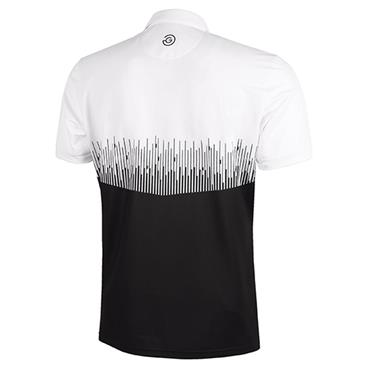 Galvin Green Gents Moss Shirt V8+ White - Black
