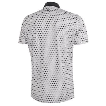Galvin Green Gents Mario Shirt V8+ Cool Grey - Sharskin