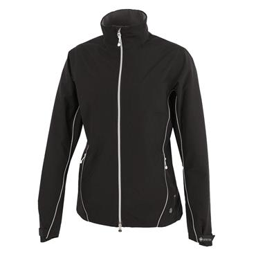 Galvin Green Ladies Arissa Waterproof GORE-TEX Full-Zip Jacket Black - Silver