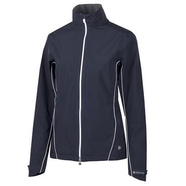 Galvin Green Ladies Arissa Waterproof GORE-TEX Full-Zip Jacket Navy - White